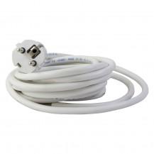 Cable con clavija inyectada 4m