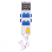 Timer Box III 8X600W + enchufe calefactor