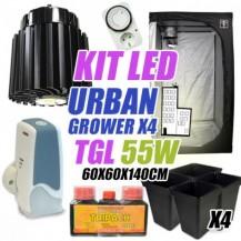 KIT LED CULTIVO URBAN GROWER 55W (ARMARIO 60X60X140)
