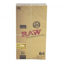 Raw Papers 1/4 box/64 hojas