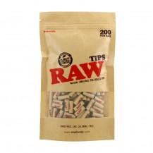 Bolsa Raw Tips Pre-Rolled 200