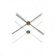 recambio cuchillas quad blades podadora spinpro (10 unds)