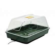 Invernadero mini eléctrico 10W 38x25x19cm